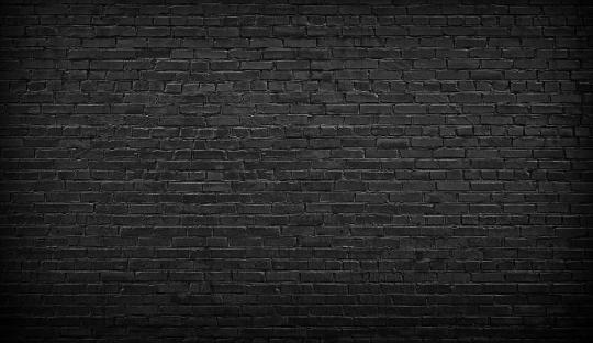 Black brick pattern background