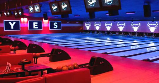 Bowling Lanes at Bowlero Fairview
