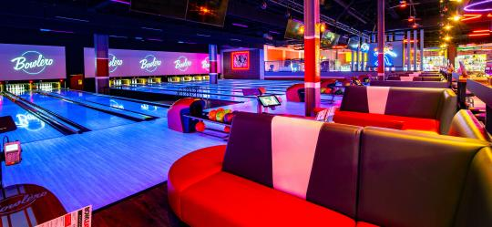 lanes and seating