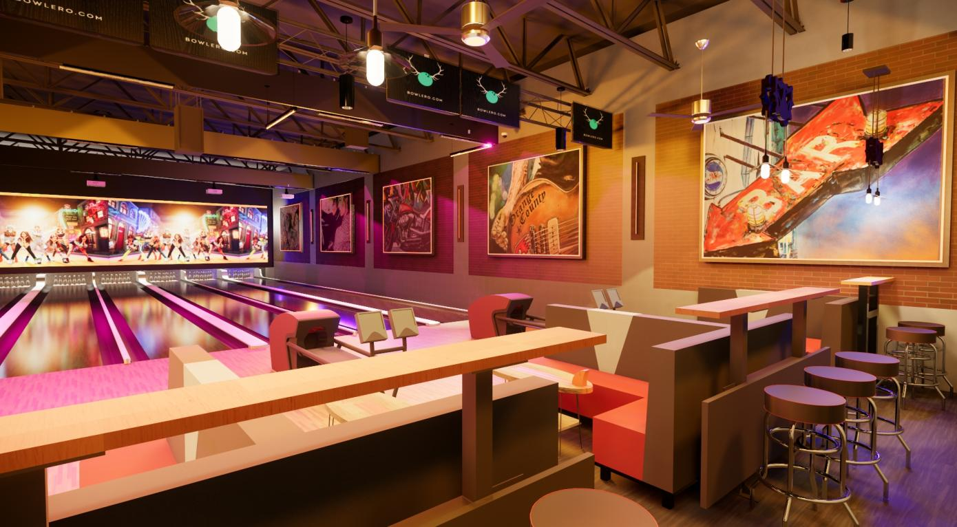 BOWLERO CORP SIGNS LEASE FOR NEW BOWLING ENTERTAINMENT